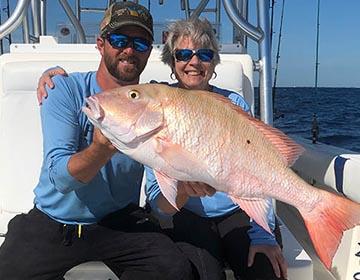 offshore fishing trip